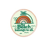 Beach Belongs To All Mini Patch