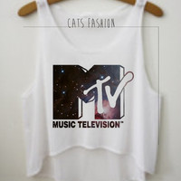 MTV Crop Top by CatsFashionClothes on Etsy
