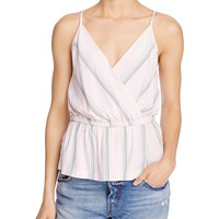 Free PeoplePsychedelic Summer Faux-Wrap Top