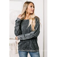 Busy Chasing Dreams Mineral Washed Top