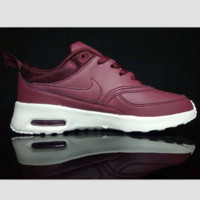 NIKE Women Men Running Sport Casual Shoes Sneakers Fashion Red