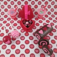 American Girl Doll Food- Valentine's Day Collection by Katie's Craftations