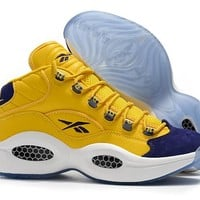 RBK Question 1 Mid OG Yellow/Purple