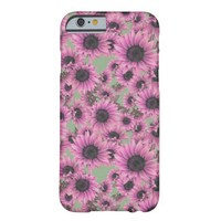 Pink Luscious Sunflower iPhone 6 Case