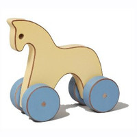 Pastel Toy Horse