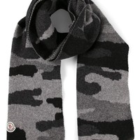 Moncler camouflage scarf