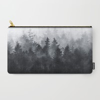 The Heart Of My Heart // Midwinter Edit Carry-All Pouch by Tordis Kayma | Society6