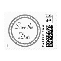 Save the Date Wedding Invitation Celtic Stamps
