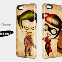 Cauple 3D Case Cute Joker - for iphone and samsung