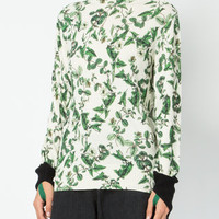 Undercover Floral Print Jumper - Farfetch