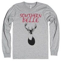 Southern Belle-Unisex Heather Grey T-Shirt