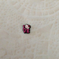 Floating charms  Hello Kitty Love