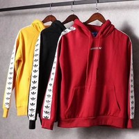 Adidas Originals Tnt Tape Pullover Hoodie Top Sweatshirt Sweater