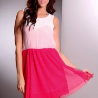 Fuchsia Multi Color Block Mesh Detailing Sexy Party Dress @ Amiclubwear sexy dresses,sexy dress,prom dress,summer dress,spring dress,prom gowns,teens dresses,sexy party wear,women's cocktail dresses,ball dresses,sun dresses,trendy dresses,sweater dresses,