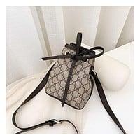 GUCCI Bucket recreational straddle bag