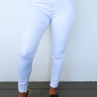 Made In The Shade Jeans: White