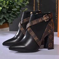 Louis Vuitton LV Matchmake Ankle Boot Shoes