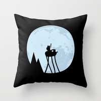 Extra adventure Throw Pillow by Aterg88