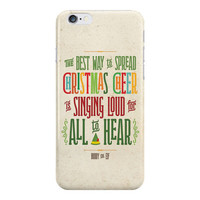 Buddy the Elf Phone Case, Christmas Cheer Phone Case, Singing Loud for All to Hear Phone Case, iPhone, Samsung Galaxy