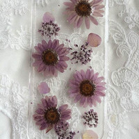 iphone 6/6plus real pressed flower case iphone 5/ 5s /5c /4s/4 case samsung galaxy s3/s4/s5/ note2/note3 case blackberry q10/z10 flower case
