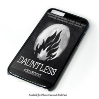 Divergent Dauntless The Brave Logo Design for iPhone and iPod Touch Case
