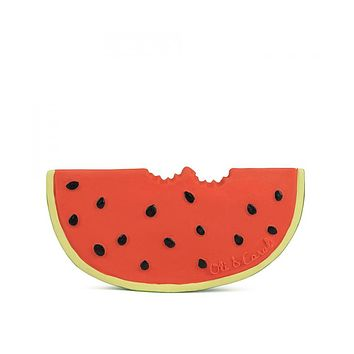 Watermelon Natural Rubber Toy