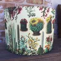 Large Cactus Blossom Lampshade