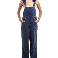 Vintage 90's Hard Tail BB Conductor Overalls - XS