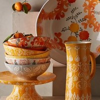 Sun Grove Cake Stand by Anthropologie in Orange Size: Cake Stand Kitchen