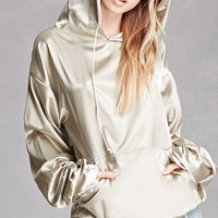 Private Academy Satin Hoodie
