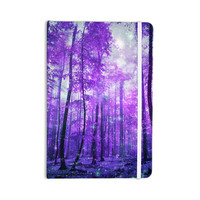 "Iris Lehnhardt ""Magic Woods"" Purple Forest Everything Notebook"