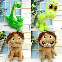 "Pixar Movie The Good Dinosaur Spot Dinosaur Arlo Plush Doll Stuffed Toy 7"" 17.5cm"
