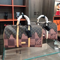 Louis Vuitton LV Travel Bag Fashion Trend Handheld Shoulder Bag