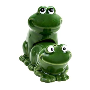Froggy Style Salt & Pepper Shakers (Green)