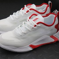 """Adidas"" Alphabounce Beyond M Men Sport Running Shoes White/Red"