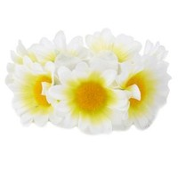 White Daisy Bun Topper by Charlotte Russe