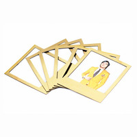 Gold Magnetic Polaframes | Polaroid Photo Magnet Frames
