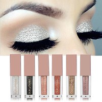 Hengfang Metal Liquid Eyeshadow Glitter Eye Shadow Liquid Shimmer Stick Beauty Tool Korea Cosmetic Gift For Girl