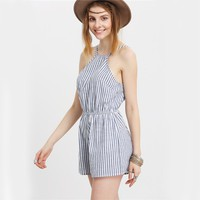 Abbie Backless Romper