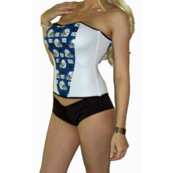 NFL Indianapolis Colts Lingerie Sexy Corset 3 by SexyCrushes