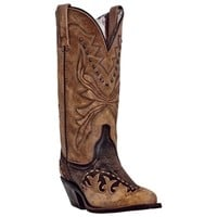 Cullison tan and Brown Leather Boot.