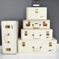 Mid-Century Lady Baltimore Luggage Set