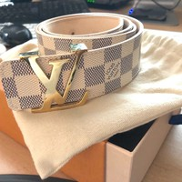 Damier Ebene Louis Vuitton Belt Size - 90/36