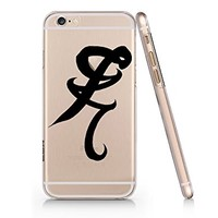 Shadowhunter Runes Heal Painless Clear Transparent Plastic Phone Case Phone Cover for Iphone 6 6s_ SUPERTRAMPshop (iphone 6)