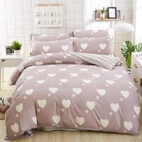 Cool birthday present Duvet Cover flat Bed Sheet linen pillowcase Bedding Sets Full King Twin Queen size  3/ 4pcsAT_93_12