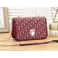 Dior fashion is full of flip-cover shoulder bags hot selling women's casual shopping bags #3