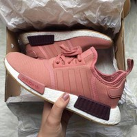 PEAPGE2 Beauty Ticks Adidas Nmd Boost R1 Women Gym Shoes