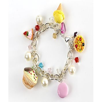 Sweet Confections Charm Bracelet