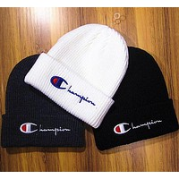 Champion : fashion men's and women's knitted cap hat I