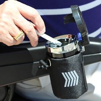 Scooter Smokeless Ashtray J3100 - Challenger Accessories Scooter Ashtray   TopMobility.com